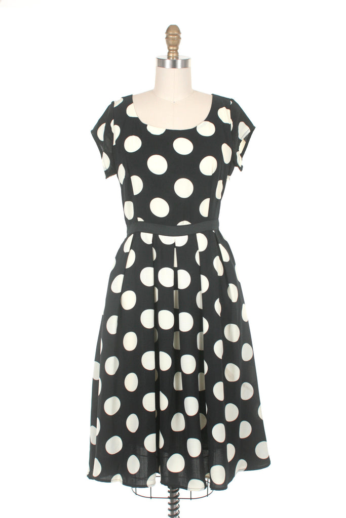 Dot Dress in Black