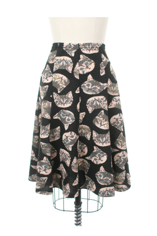 Wild Cat Skirt in Black