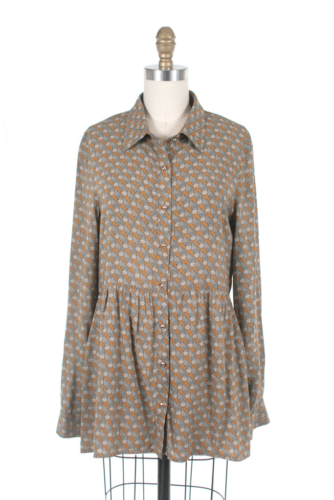frockshop frock shop owl blouse