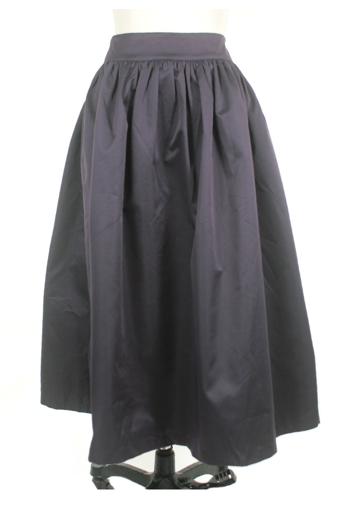 frock shop plum midi gather skirt frockshop