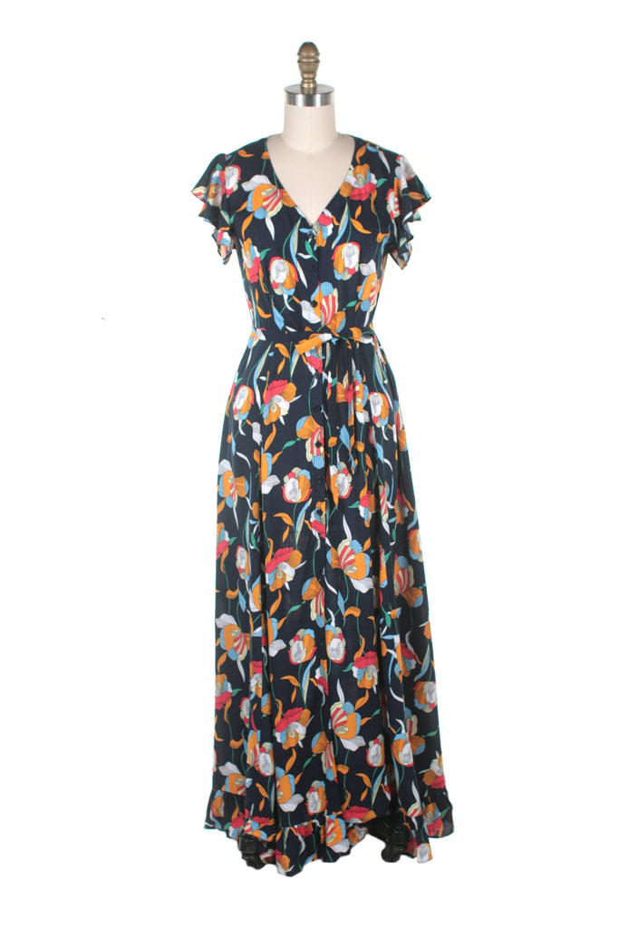Everlove Dress in Navy - Bright