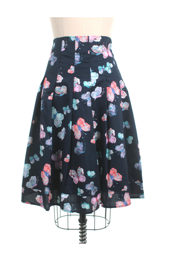 Butterfly Skirt in Navy + PLUS SIZE