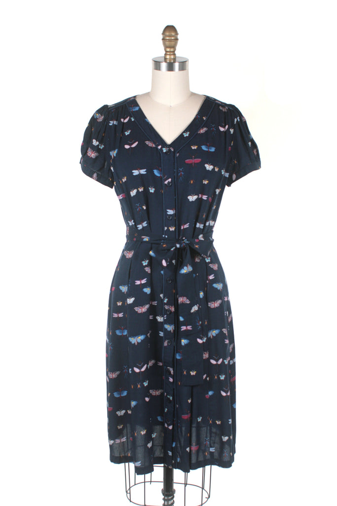 Bug Dress in Navy - Last One!