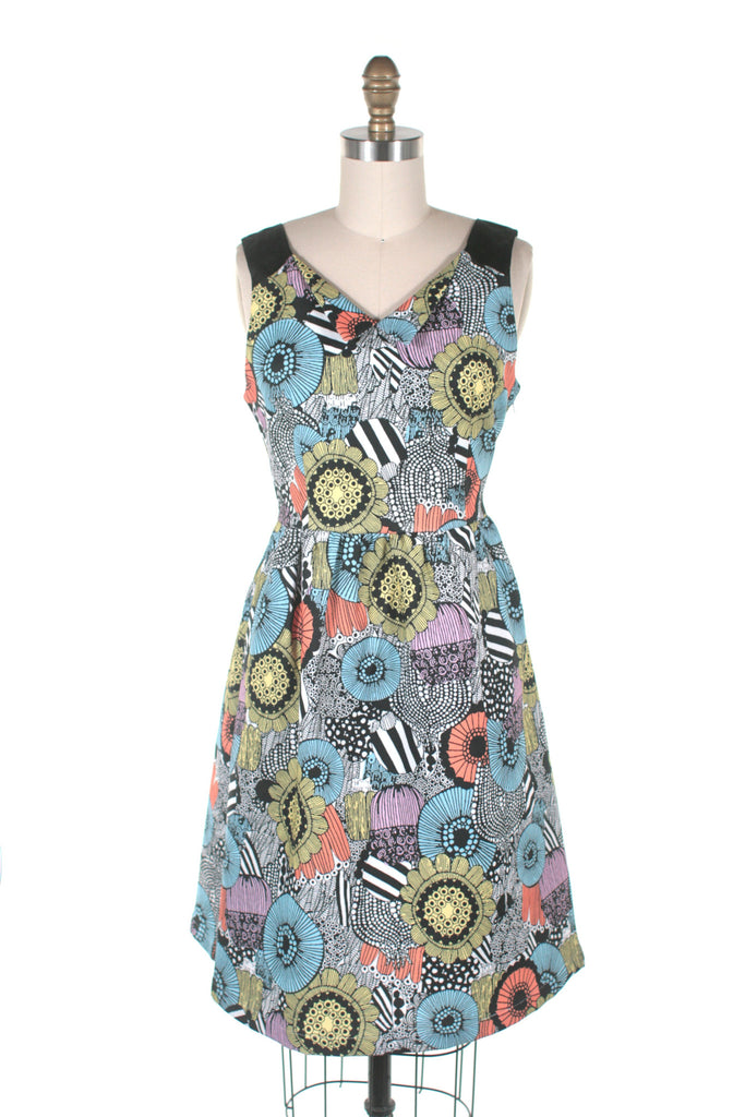 Pop Flower Dress in Multi - Last One!