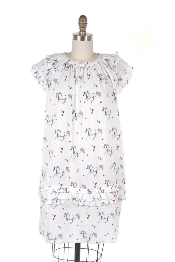Unicorn Dress in White