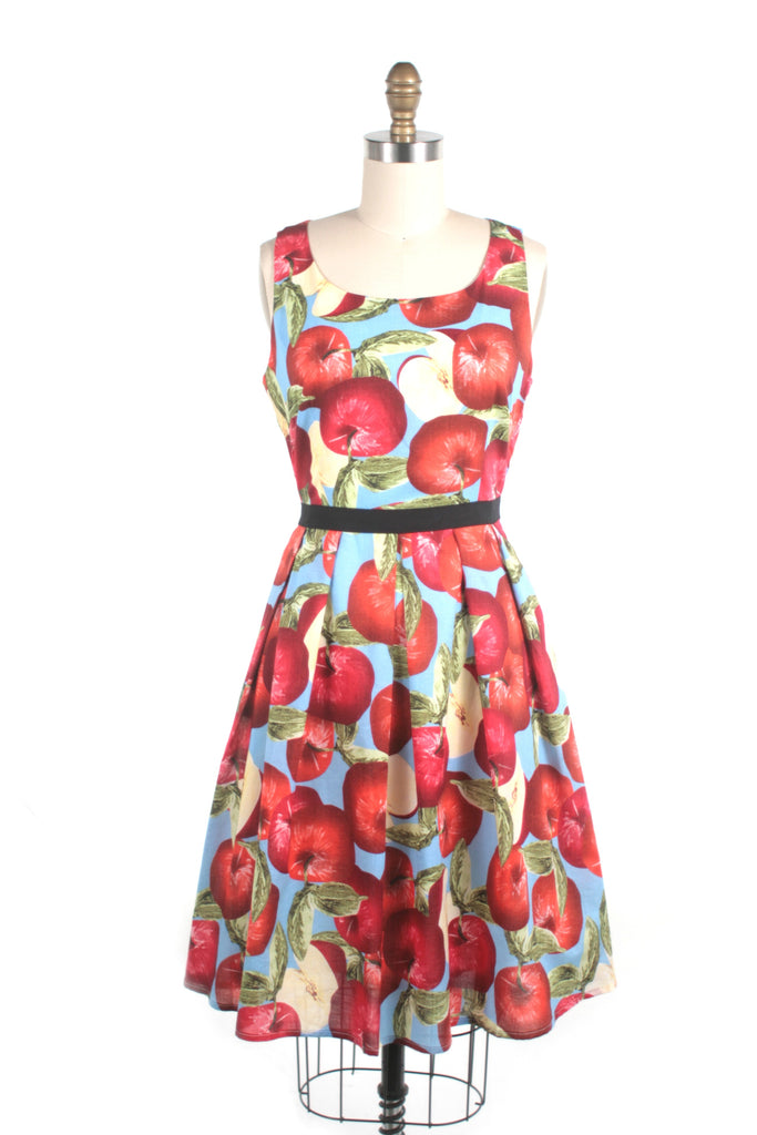 Apple Dress in Blue - last size S!