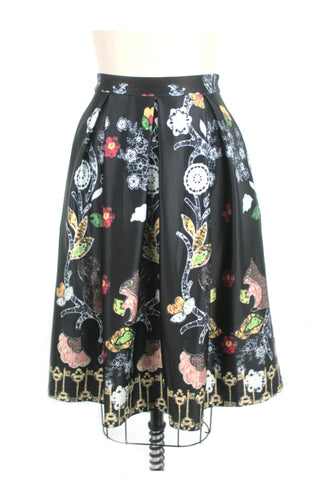 Squirrel Skirt in Black