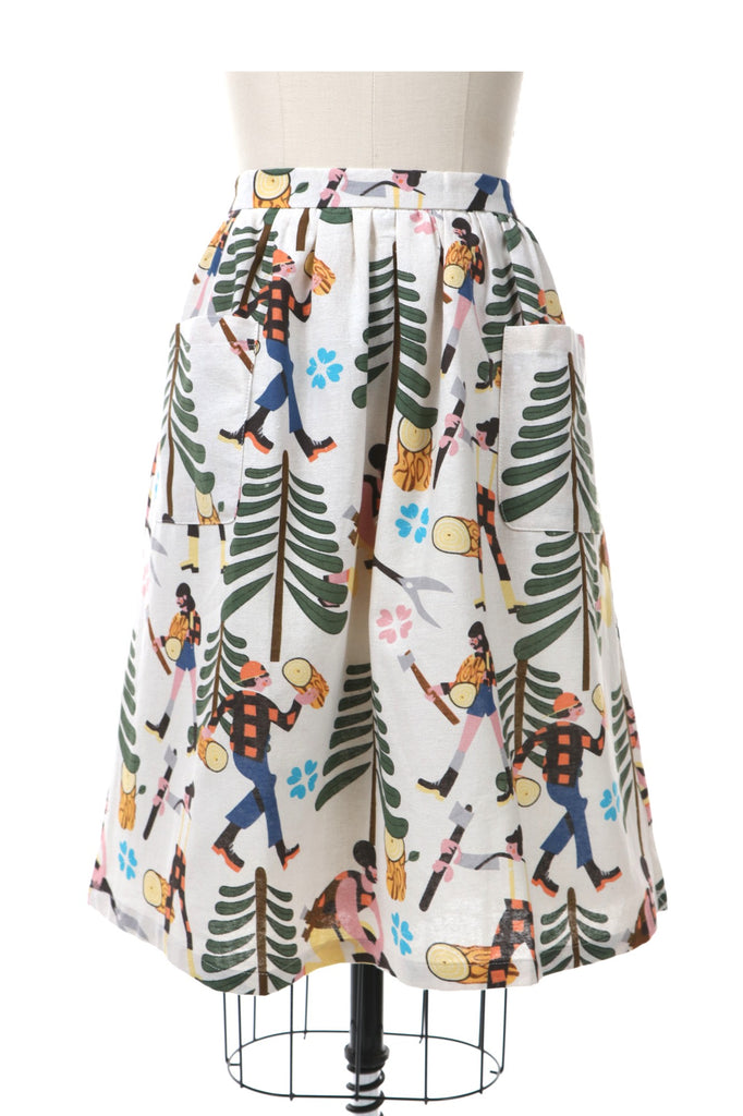 frockshop frock shop lumberjack skirt