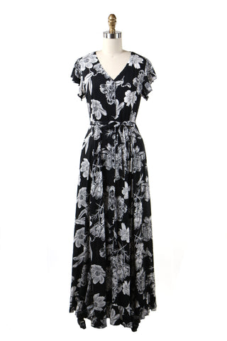 Everlove Flower Dress in Black