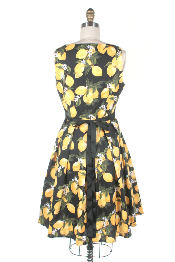 Lemon Dress in Black