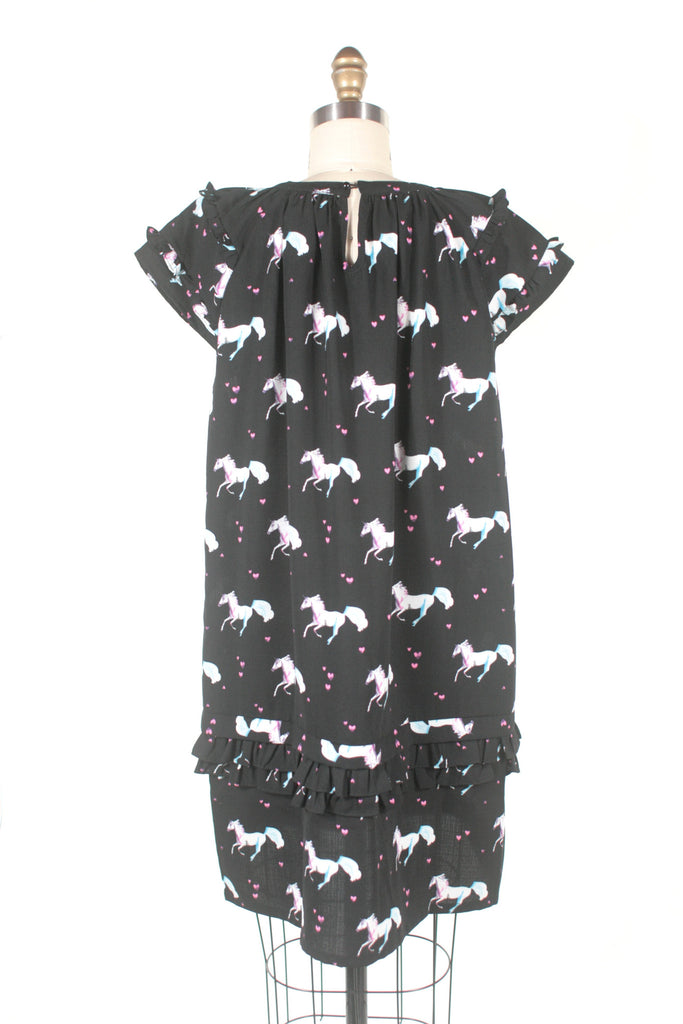 Unicorn Dress in Black + PLUS SIZE