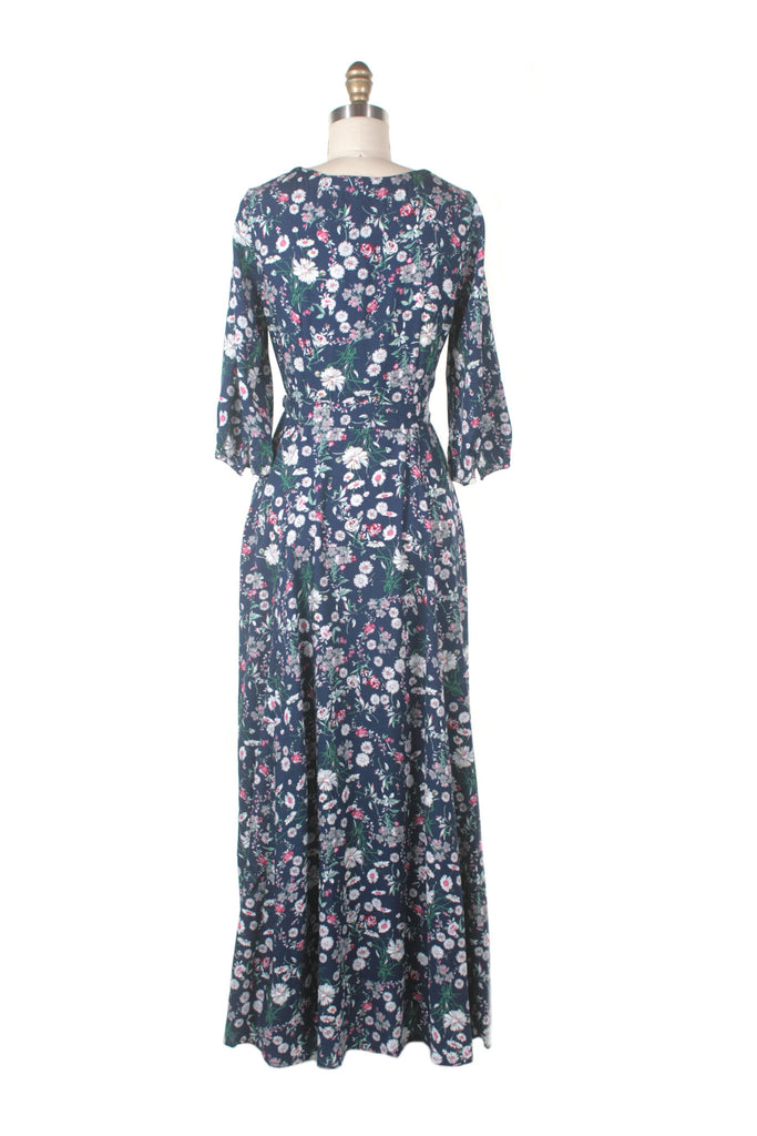 Ivy Maxi Dress in Blue