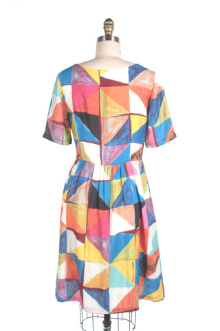 Triangle Dress in Multi