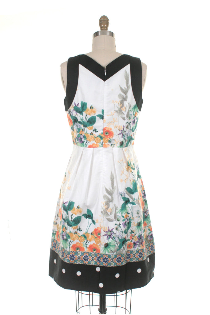 Bailey Dress in Ivory Multi - Last Size XS!