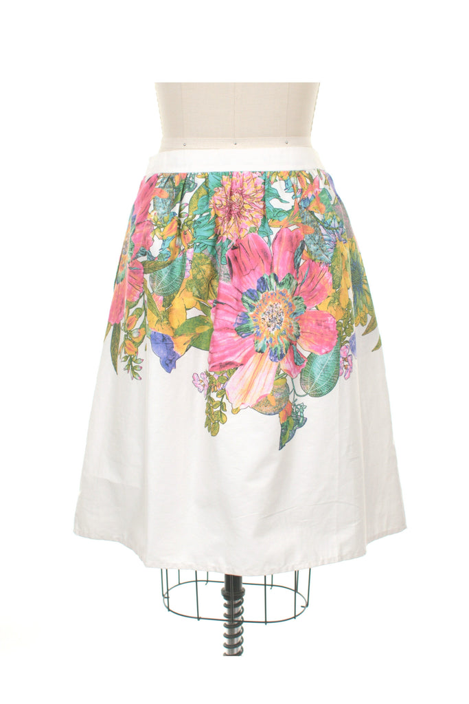 Bloom Skirt in Ivory