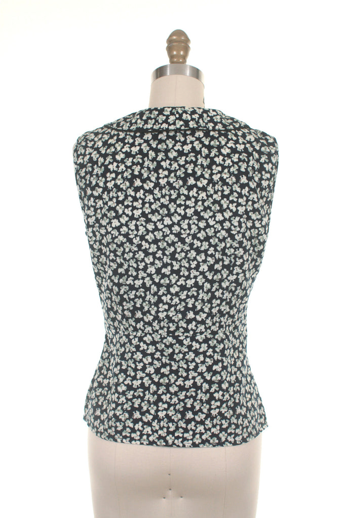 Popcorn Top in Navy - last size XS!