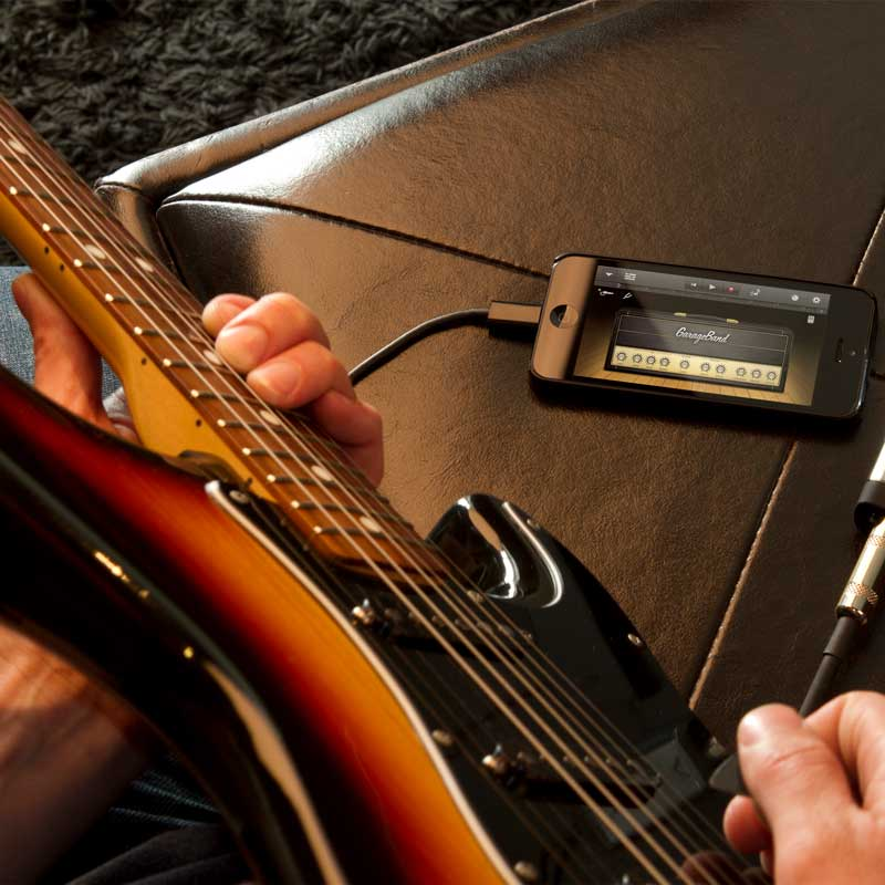 Connect Your iPhone to Guitar