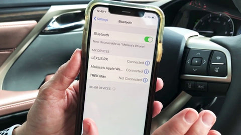 Connect Using Bluetooth