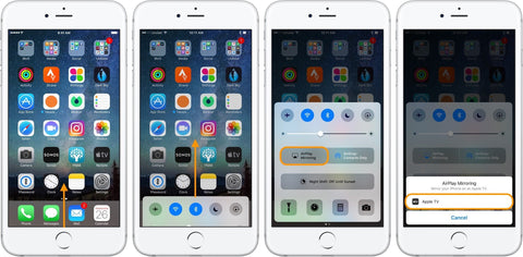 Connect iPhone to TV Using AirPlay