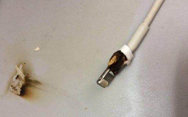 Issues with a Fake Lightning Cable