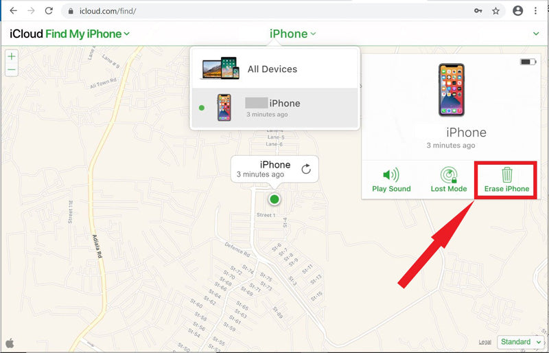 Turn Off Find My on an iPhone