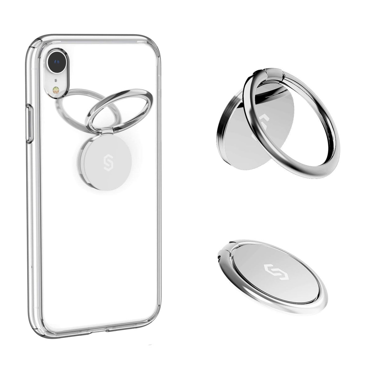 Syncwire Phone Ring Holder-Sliver - Syncwire
