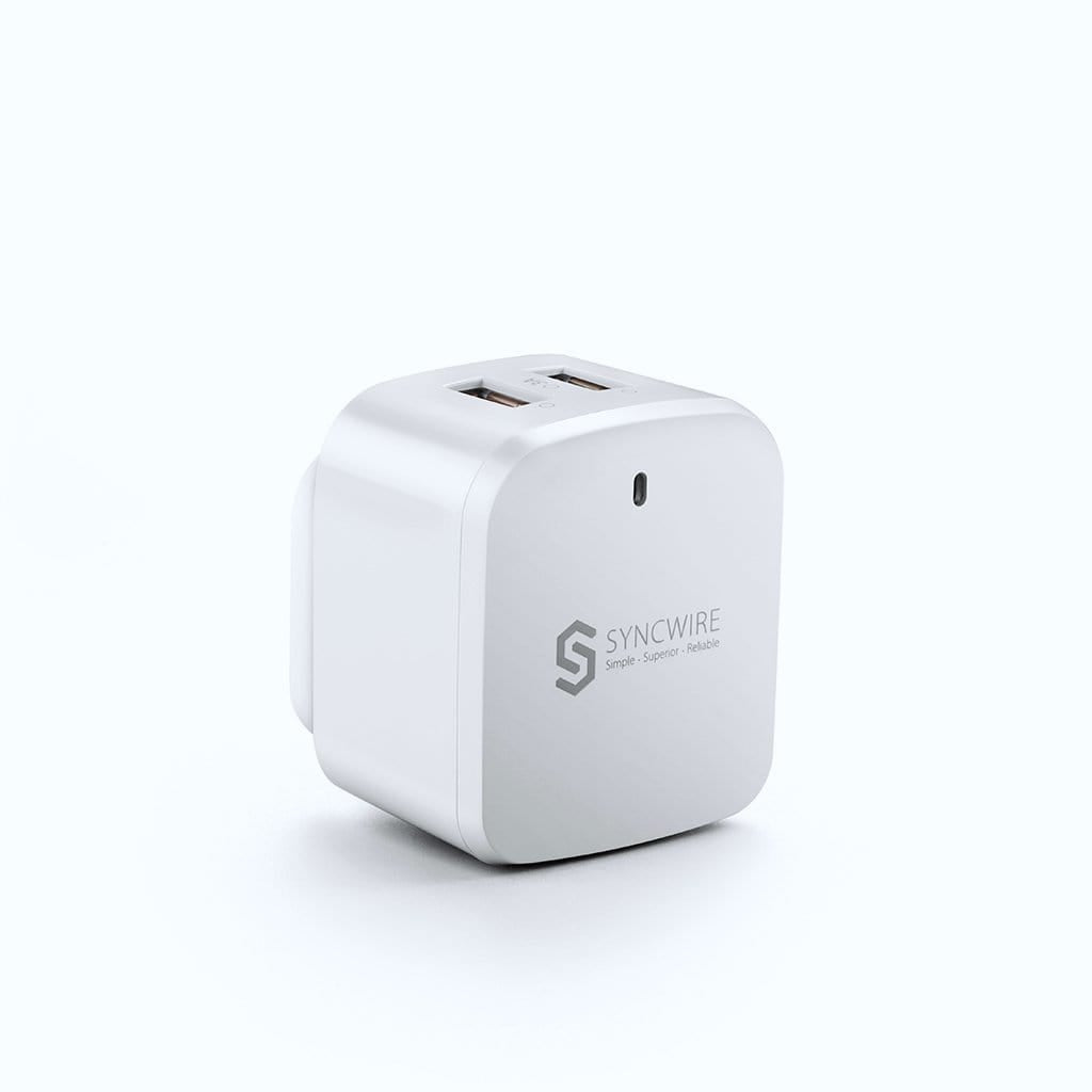 Syncwire 30W 2-Port USB Wall Charger