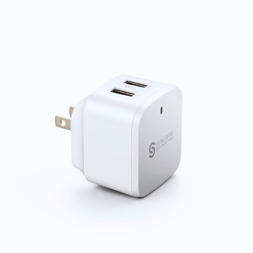 Syncwire USB Wall Charger White 2-Port 30W - Syncwire
