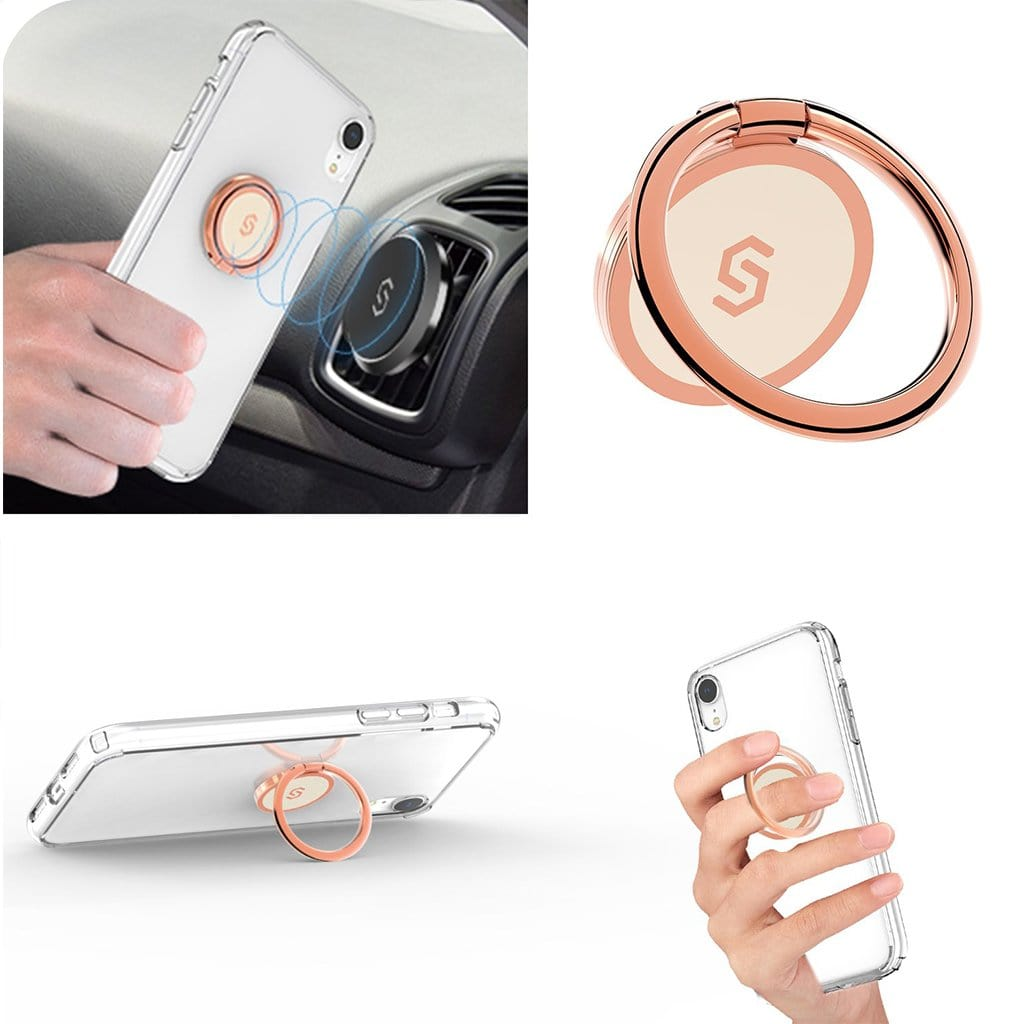 Syncwire Phone Ring Holder-Rosegold - Syncwire