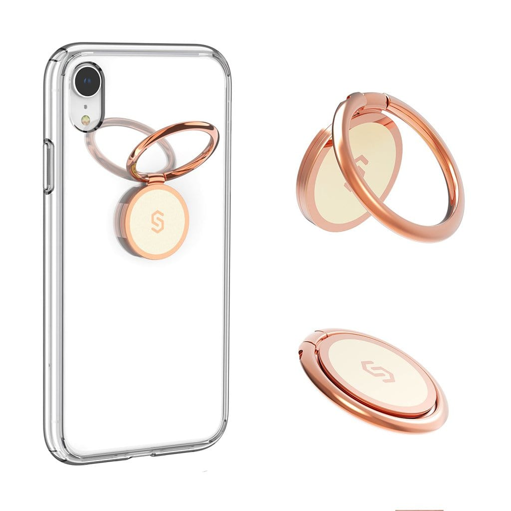 Syncwire Phone Ring Holder-Rosegold - Accessories