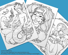 Mer-Kingdom FREE 6 Page Download