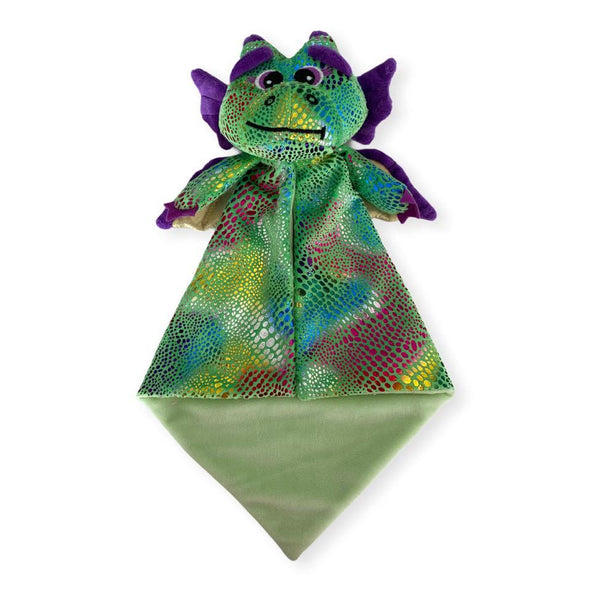 .Dragon lovey blankie