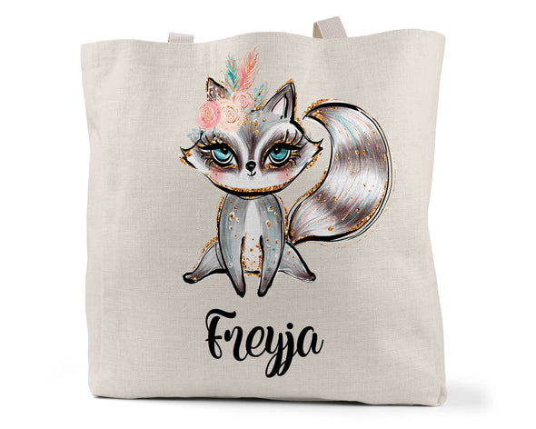 Raccoon Tote Bag