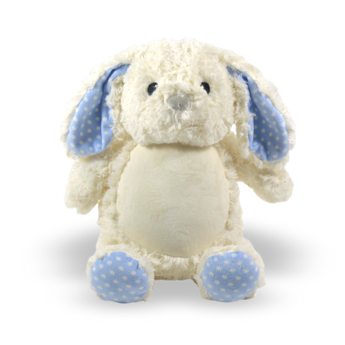 Bunny - blue accents