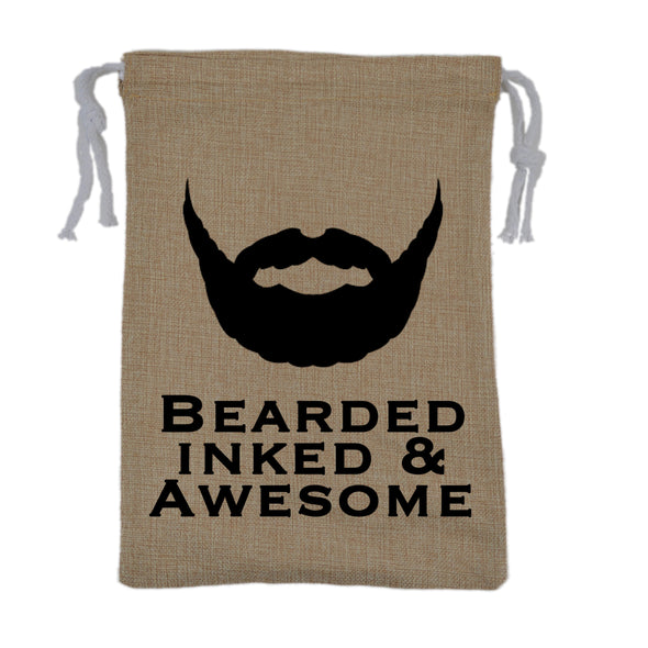 Bearded Inked & Awesome Bag