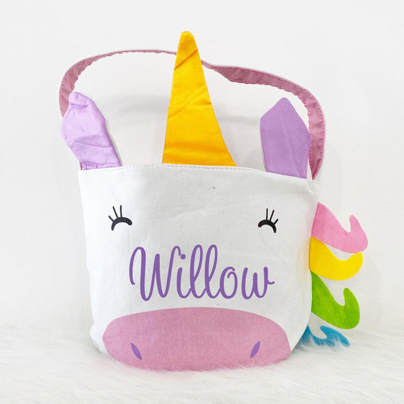.Easter Bucket - Unicorn