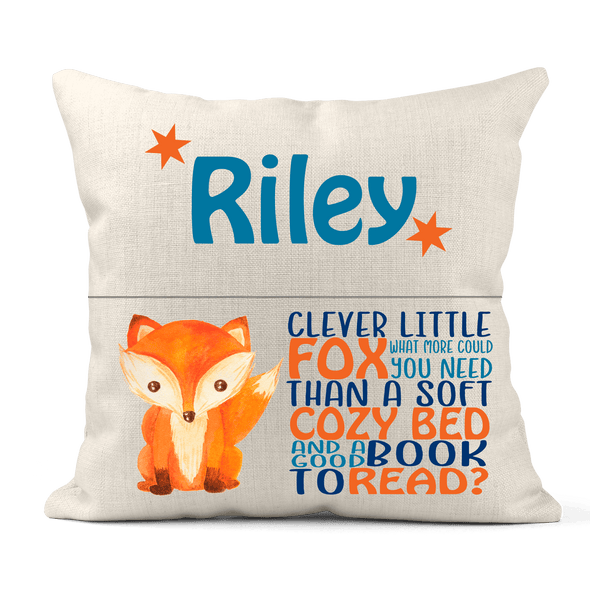 *NEW* Reading Pillow - Fox