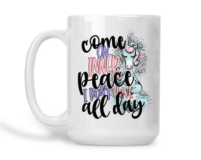 Come on Inner Peace... I dont have all day!