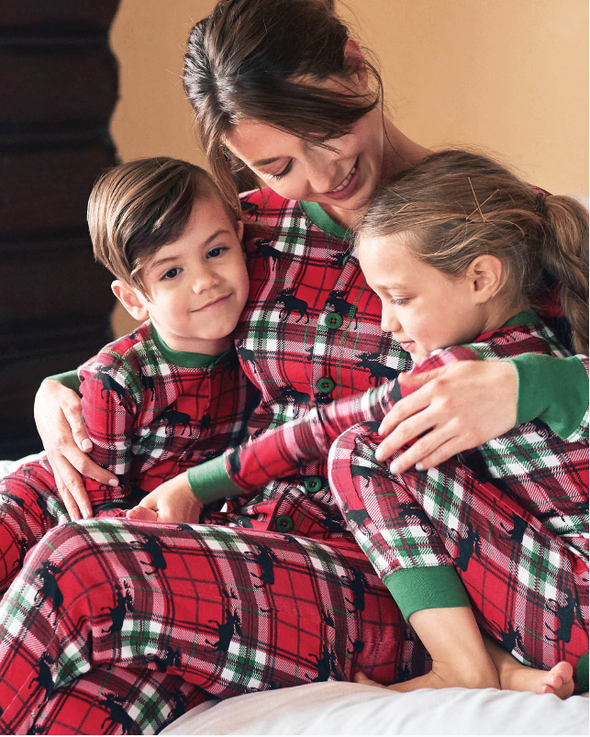 Holiday Moose Jumpsuit - all family sizes