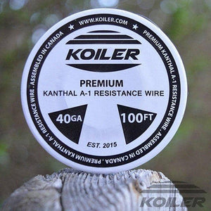 Koiler A1 Kanthal Wire Wick And Wire Wick And Wire Voodoo Vapes