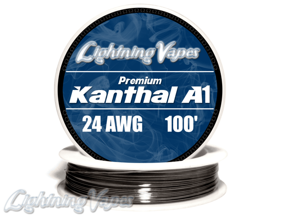 Lightning Vapes A1 Kanthal Wire Wick And Wire Wick And Wire Voodoo Vapes
