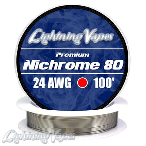 Lightning Vapes Nichrome 80 Wire Wick And Wire Wick And Wire Voodoo Vapes