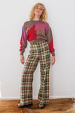 Plaid For Days Pants