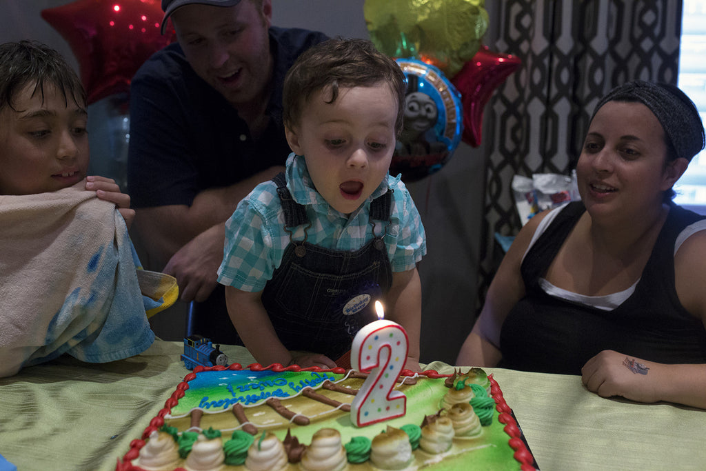 Owen turns 2 and gets bigger!