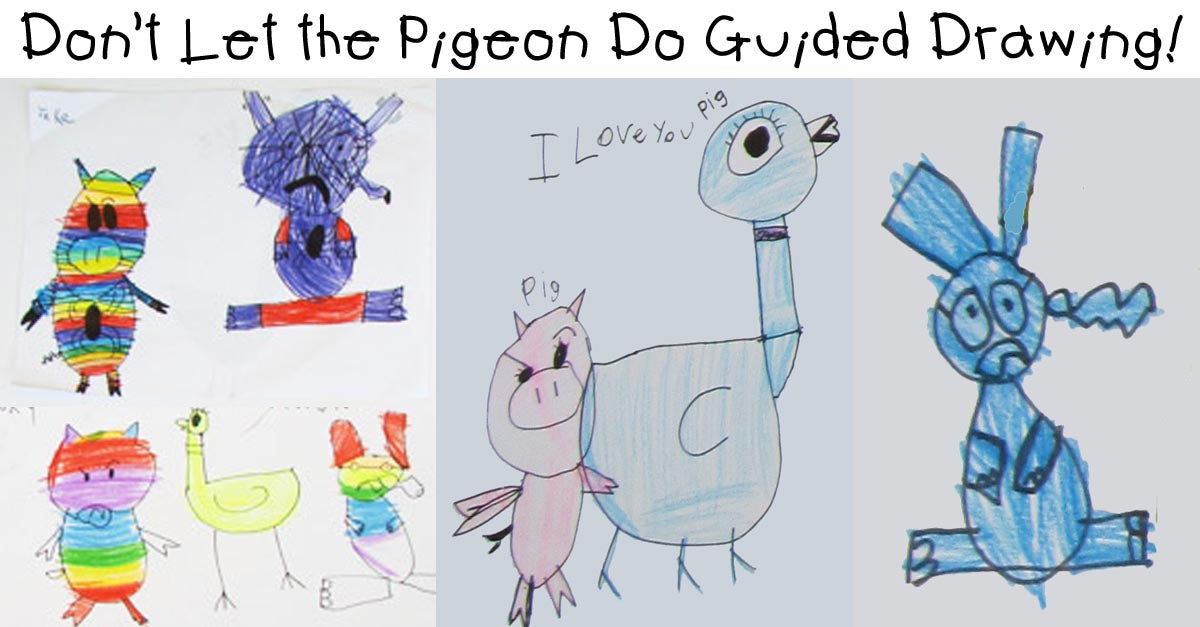 Don't Let the Pigeon Do Guided Drawing!!!!