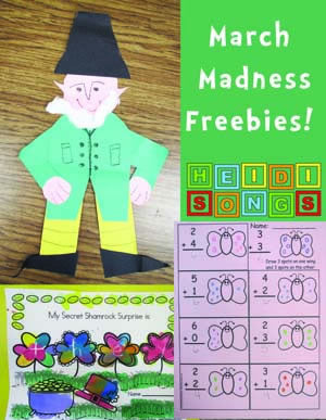 March Madness – FREEBIES!