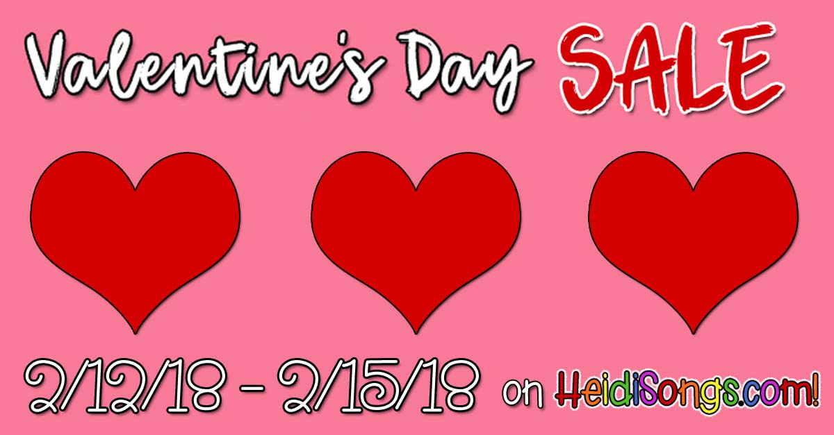 A Valentine's Day SALE!!!
