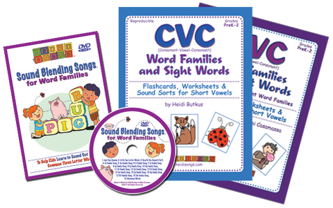 CVC & Word Family Songs