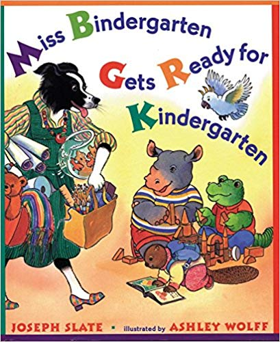 Miss Bindergarten Book