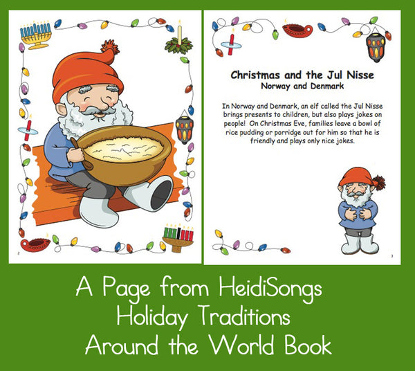 A Page from Holiday Traditions Around the World
